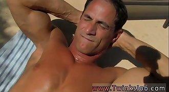 Horny doctor gay porn videos male Daddy Poolside Prick Loving